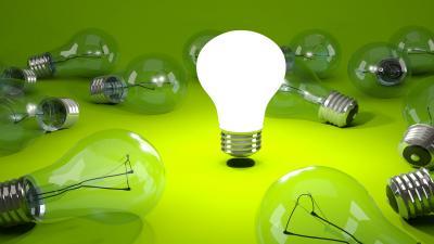 3D Lamp Wallpaper 53964